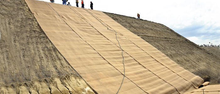 Erosion Control Mats Technical Fabrics By Thrace Group